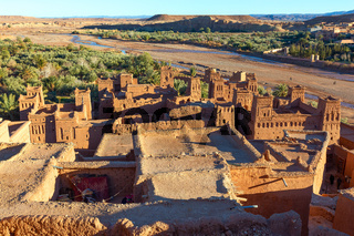Towers of Ait Ben Haddou, Morocco