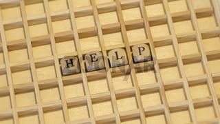wooden dice help