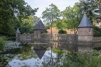 Burgmauer von Haus Welbergen