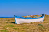 Old Boat on the Shore