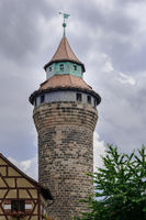 Sinnweltturm Kaiserburg Nuernberg