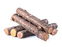 Pile firewood