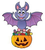 Halloween bat theme image 1