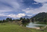 Devriya Taal or Deoria Tal lake, Garhwal, Uttarakhand, India