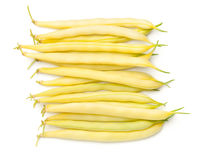 Yellow Beans Isolated On White Background