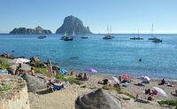 Cala d'Hort beach.
