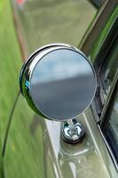 Vintage Outside Rear Mirror