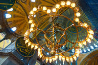 Luster in The Hagia Sophia