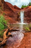 The Red Dirt Waterfall