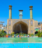 Imam Khomeini Mosque Tehran Iran