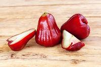 Ripe rose apple.
