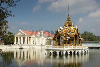Bang Pa-In Palace, landmark of Ayutthaya, Thailand, Asia