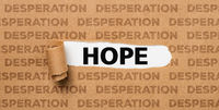 Torn Paper - Hope or Desperation