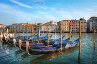 Gondolas and architecture