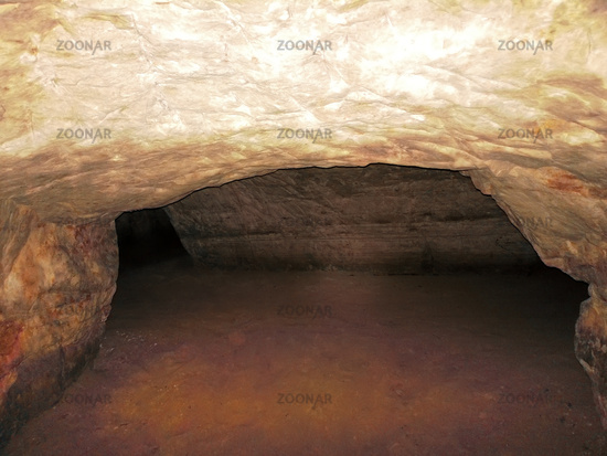 artificial cave under earth journey