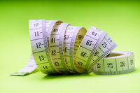 Close Up Tailor Measuring Tape