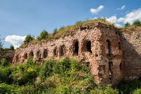 Ruins in fortress of Oreshek. Shlisselburg, Russia