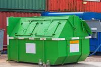 Green Recycling Skip