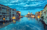 Blue morning in Venice