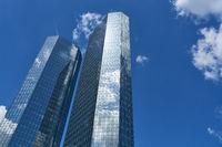 Business Architektur für Bank Hochhaus in Frankfurt