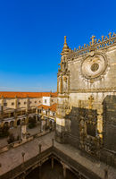 Knights of the Templar (Convents of Christ) castle - Tomar Portugal