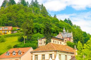 Historic architecture of Saint Marie Aux Mines