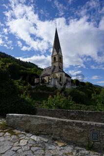 Agumser Kirche St. Georg in Prad am Stilfser Joch