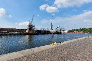 Hansahafen, Lübeck, Deutschland