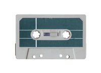 Isolated Grungy Cassette Tape