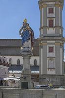 Marienbrunnen in Deggendorf