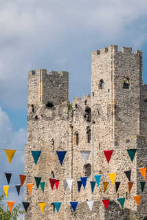 Ruins of the Rochester Castle