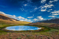 Himalayan landscape in Himalayas, India