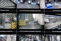 Video surveillance system in the subway