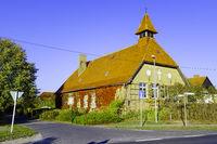 Schul- und Bethaus Ahrensdorf, Brandenburg, Deutschland