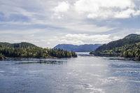 Blikkengfjorden im Trondelag