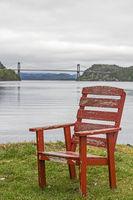 Sitzplatz mit Aussicht