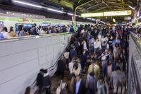 Rush Hour on Tokyo Metro
