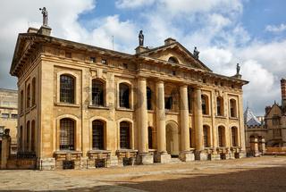 The Clarendon Building. Oxford University. Oxford. England