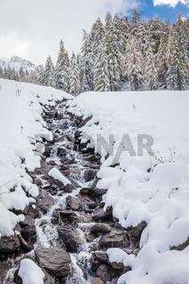 Mountain stream in Valle Aurina