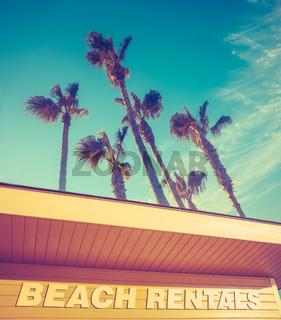 Hawaii Beach Rentals Sign