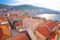 Town of Korcula view from church tower