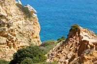 Landschaft der Algarve