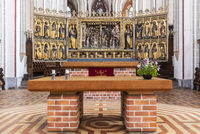 gothic winged altar