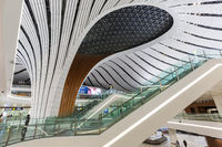 Beijing Daxing New International Airport Terminal in China