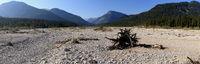 Naturlandschaft im Karwendelgebirge