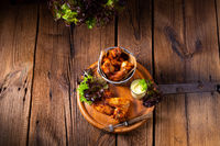 savory spiced chicken wings from the oven