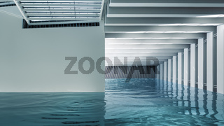 Modern Indoor Pool