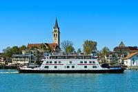 Motorfähre Friedrichshafen im Hafen Romanshorn