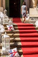 Decoration at the wedding