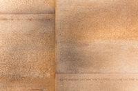 Rostige Eisenplatte mit Nieten als Hintergrund